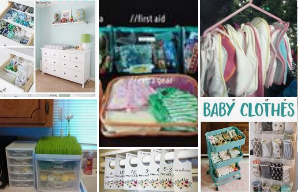 Organizing Baby Items